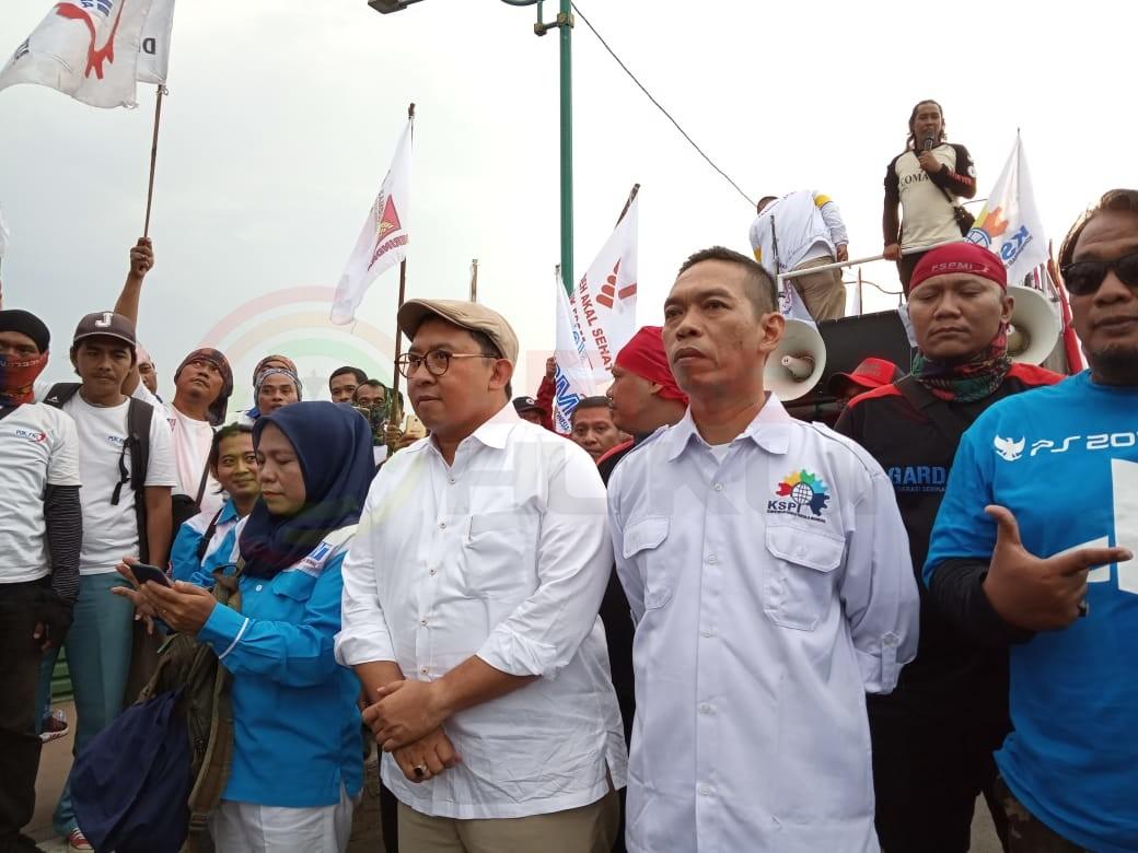 LensaHukum.co.id - IMG 20190406 WA0052 - Fadlizon Melepas Long-march KSPI Di Bekasi