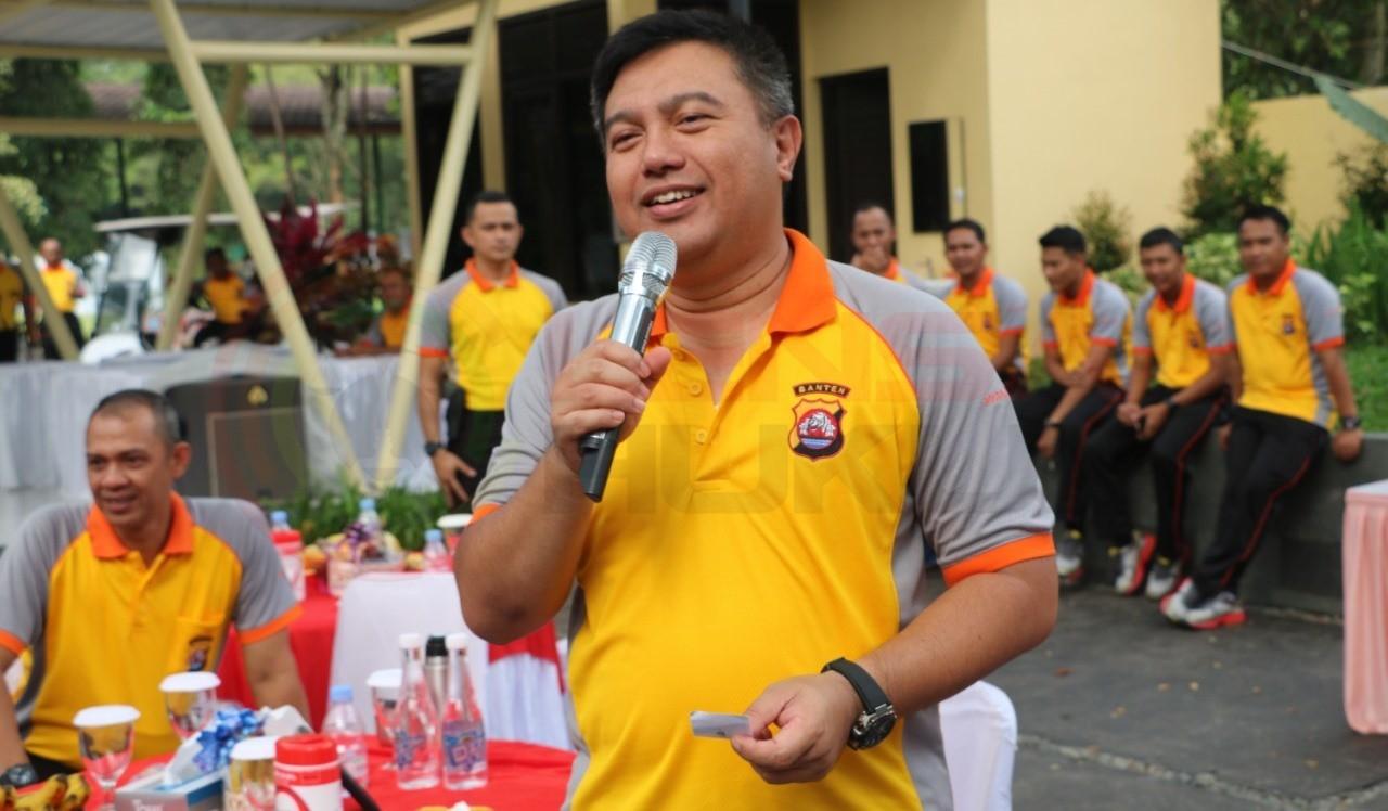 LensaHukum.co.id - Polda Banten Rutin Laksanakan Olahraga Bersama 3 - Polda Banten Rutin Laksanakan Olahraga Bersama