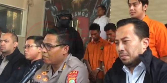Terlibat Penganiayaan Kriss Hatta Ditangkap Resmob Polda Metro