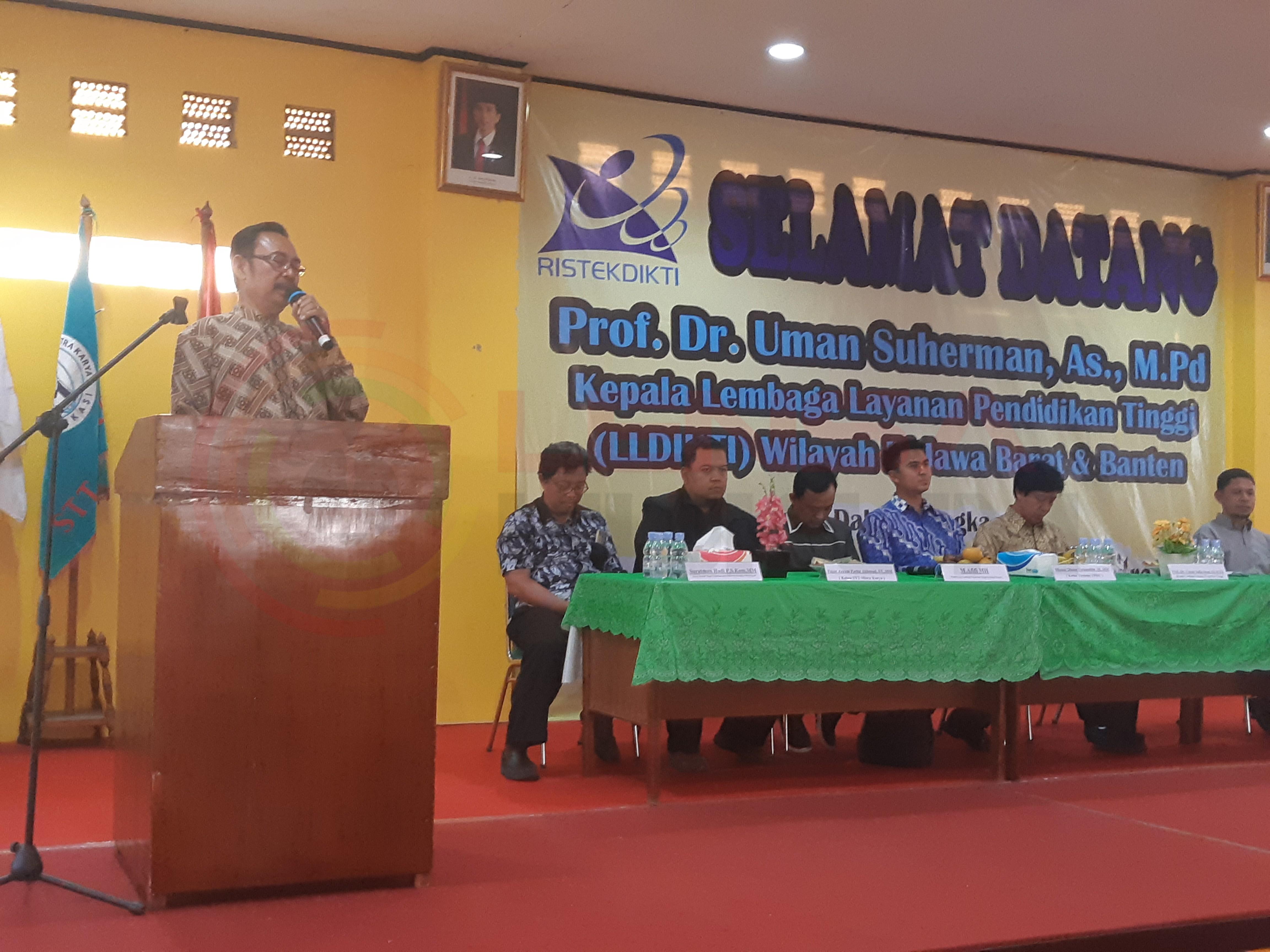 LensaHukum.co.id - 20190806 162516 - Prof.Dr.Uman Suherman AS.Mpd,Mengesahkan ijin Operasional Universitas Mitra Karya