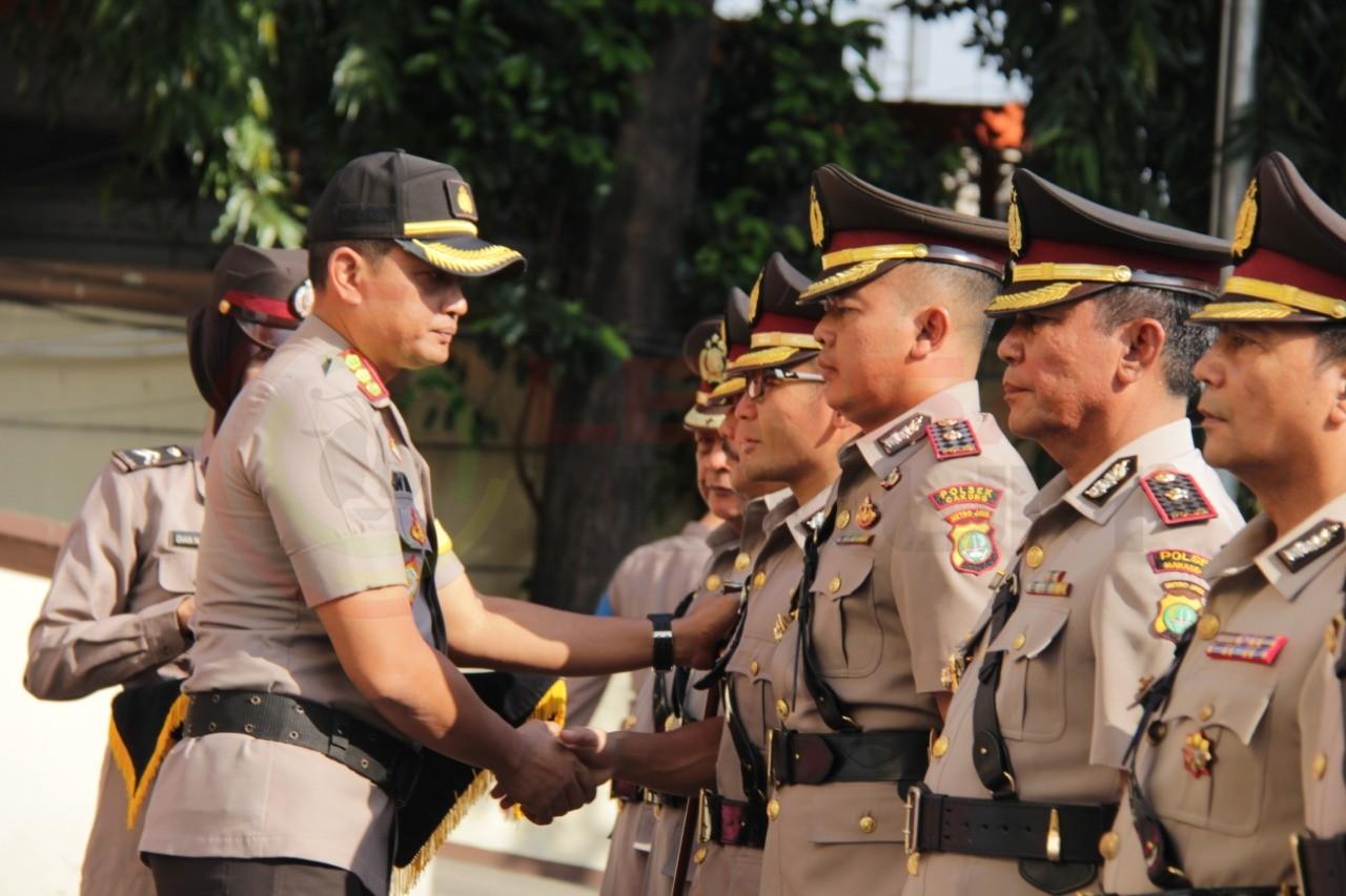 LensaHukum.co.id - IMG 20190806 WA0010 - Serah Terima Jabatan Kapolsek Jajaran Polres Metro Jakarta Timur