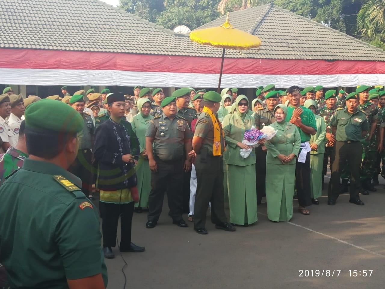LensaHukum.co.id - IMG 20190807 WA0035 - Kasdim 0507 Sambut Warga Baru Calon Dandim 0507 Bekasi