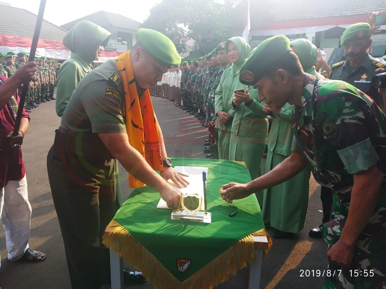 LensaHukum.co.id - IMG 20190807 WA0036 - Kasdim 0507 Sambut Warga Baru Calon Dandim 0507 Bekasi