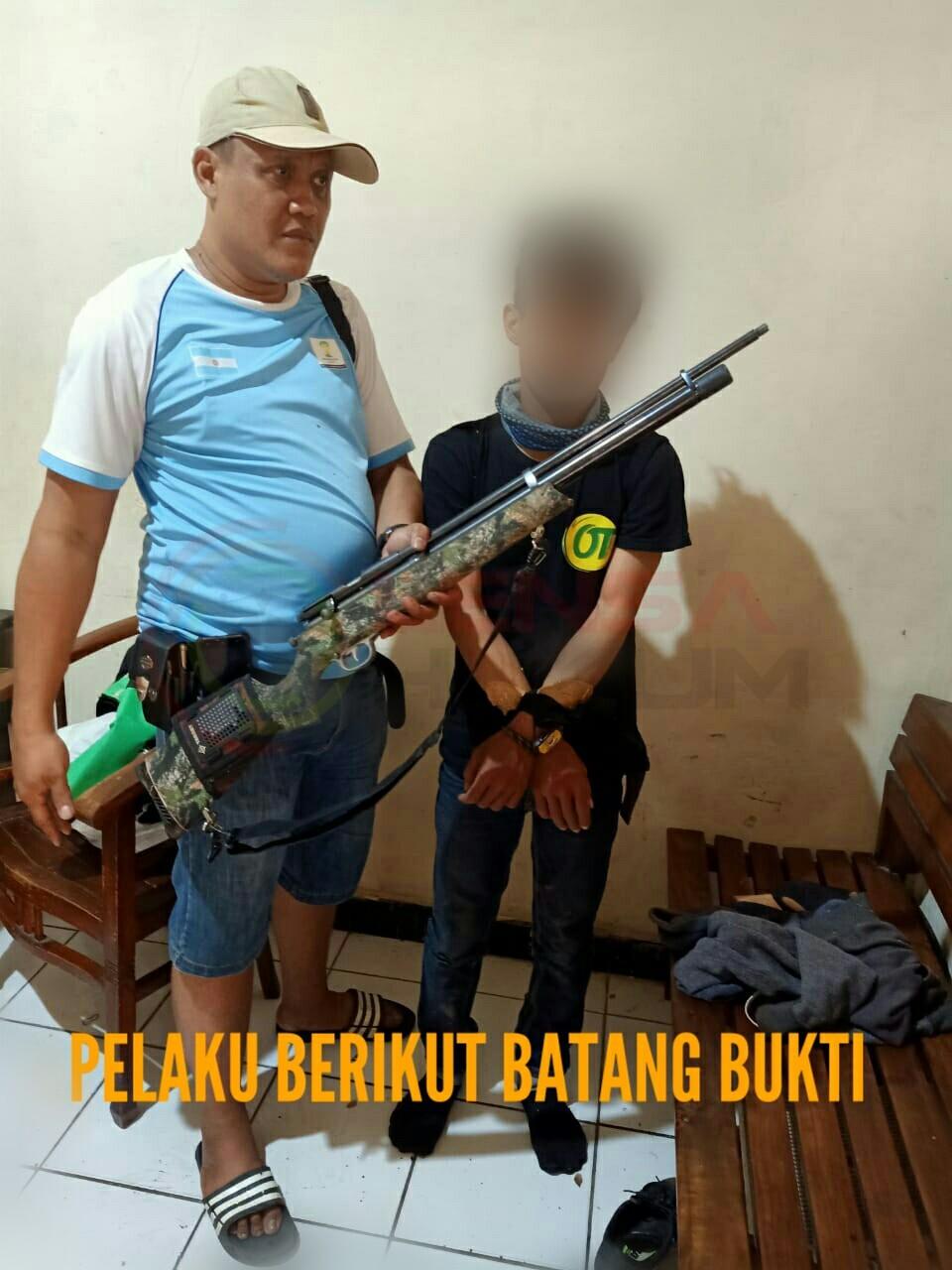 LensaHukum.co.id - IMG 20190812 WA0002 - Akibat Cemburu Seorang Pemuda Nekat Menganiaya Mantan Pacarnya Dengan Senapan Angin