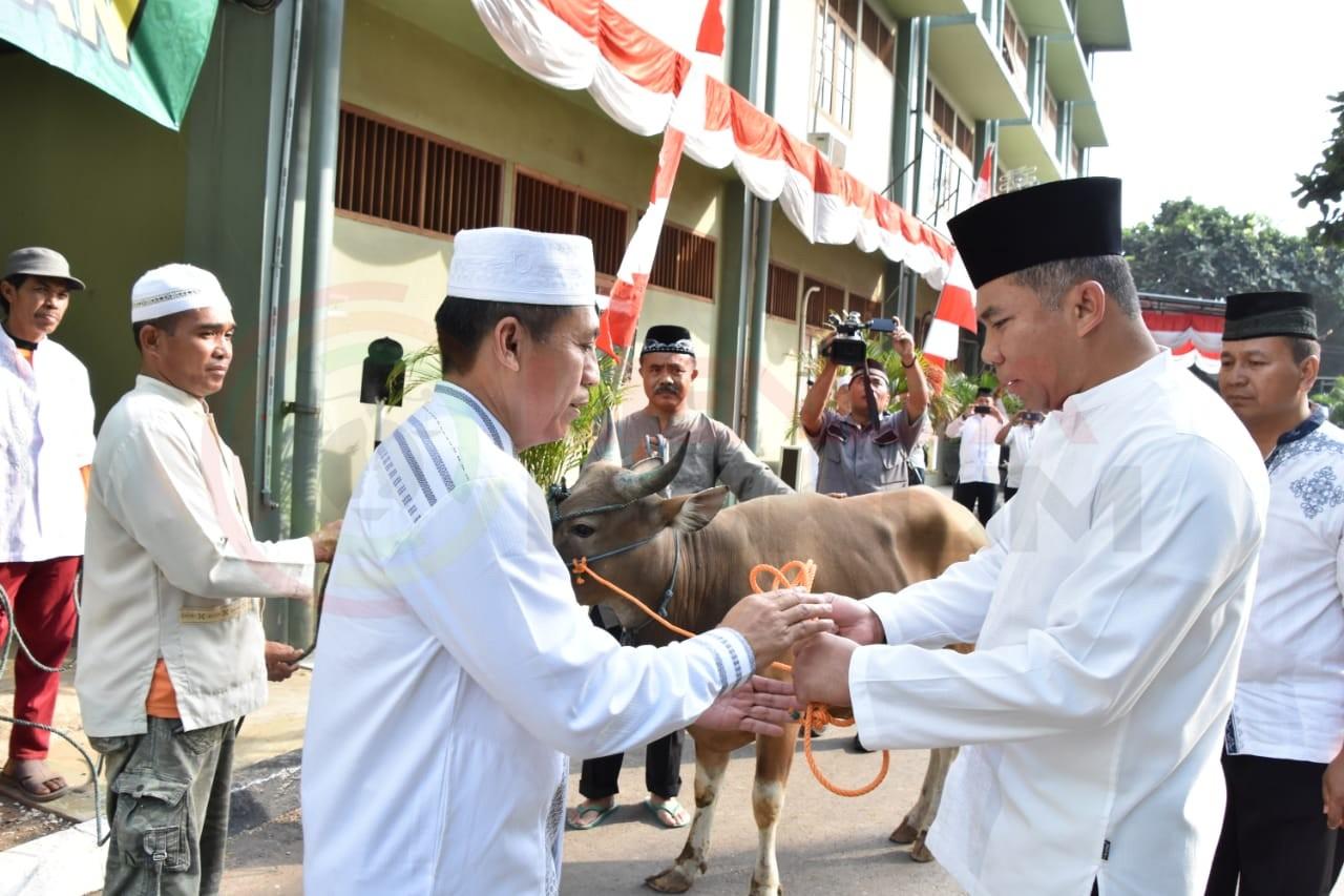 LensaHukum.co.id - IMG 20190812 WA0007 - Bersama Ribuan Warga Pangdam Sholat Idhul Adha Di Lapangan Makodam Jaya
