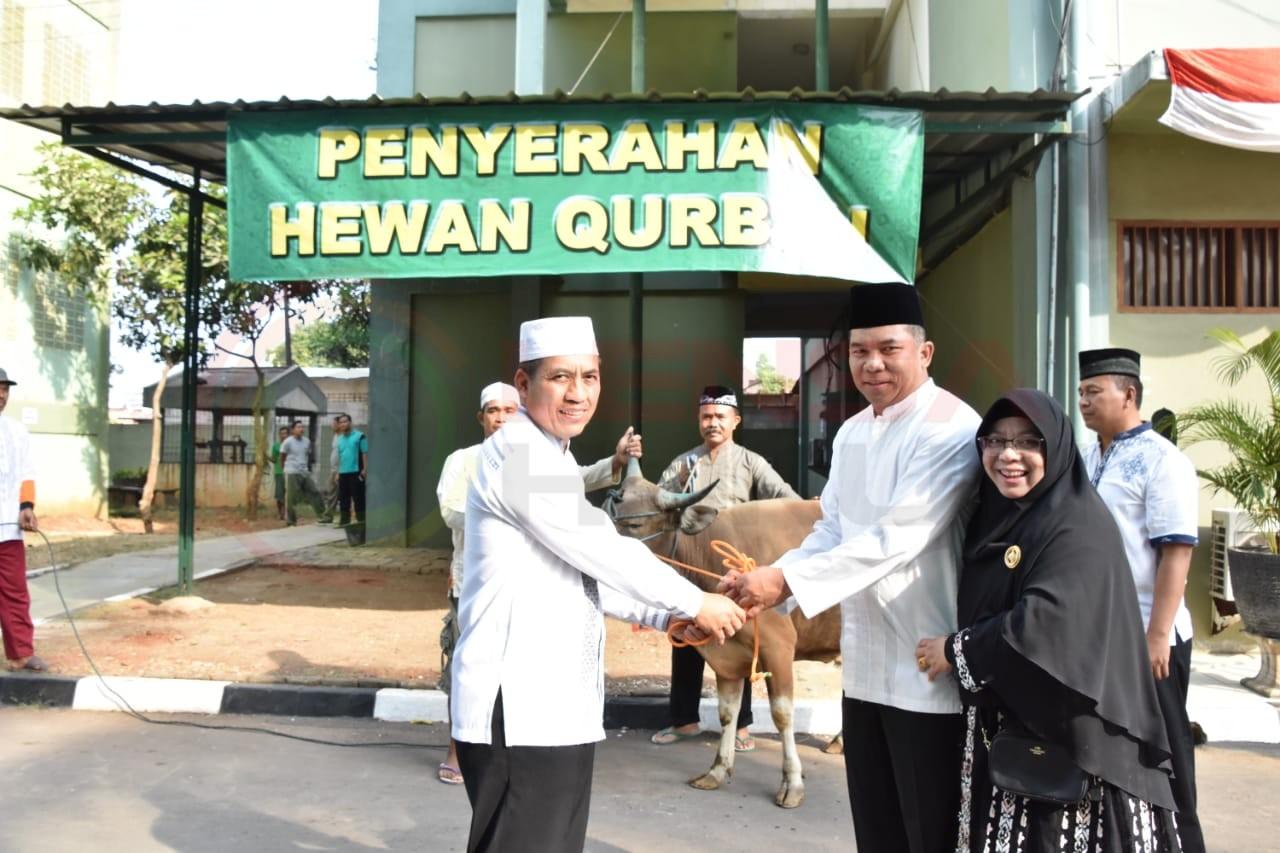 LensaHukum.co.id - IMG 20190812 WA0008 - Bersama Ribuan Warga Pangdam Sholat Idhul Adha Di Lapangan Makodam Jaya