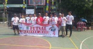 Warga Kampung Pulo Gede RW 011 Rayakan HUT RI Ke-74 Dengan Perlombaan Futsal Cup