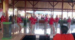 Desa Banjar Anyar Borong Juara 1,2 dan 3 Lomba Senam Kreasi Tingkat Kecamatan